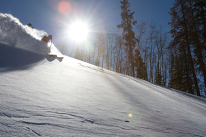 Powder days, ski racing not necessarily mutually exclusive