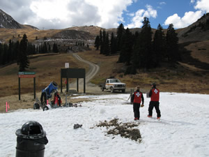 Vail marks a month without skiing but plenty of snow, calling fall snowmaking into question