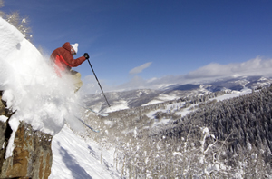 Frigid temps give way to almost balmy powder days in Vail, with more snow on tap for 2009