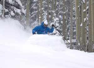 Nearly 2 feet of new snow over the weekend at Vail, Beaver Creek