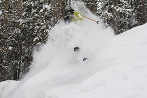 Epic conditions on Vail Mountain