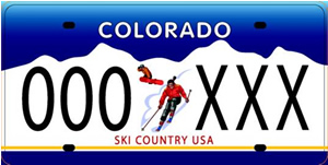 Colorado license plates may no longer be green with envy