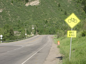 U.S. Highway 6 near Vail: I was there for the opening ... I think
