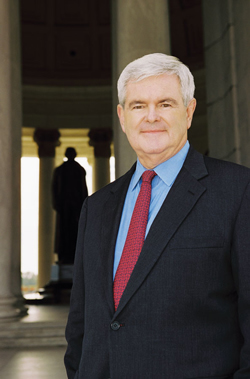 Newt Gingrich brings his latest book to the Vail Valley