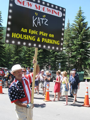 Packy Walker takes shot at Vail Resorts CEO Rob Katz in Fourth of July parade