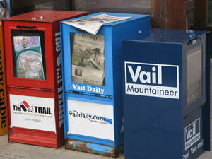 Vail Mountaineer enters its first full week of existence