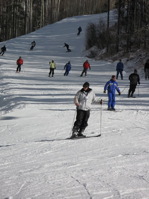 Opening day at Vail was pushed back five days due to a severe lack of snow in November - one of the factors that played into a 12.5-percent decrease in early-season skier visits statewide.