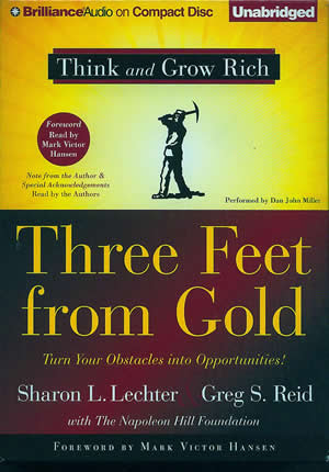 Book Review: Three feet from Gold