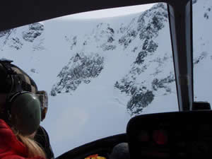 Heli Camp Day 4: Chris Anthony's crevasse encounter