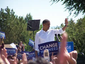 Barack Obama Speaks in Grand Junction