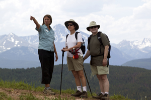 Vail Mountain offers a wide variety of activities throught he summertime.