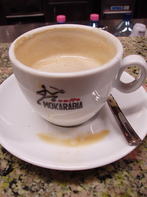 Italian lessons, Part I: Coffee-time, Roma-style