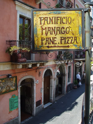 Italian lessons II: Eating on the run