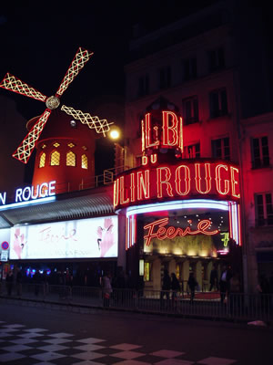 No discounts for the famous Moulin Rouge, which runs about $120 just for the show, add another $50 for dinner