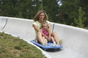 A proposed alpine slide like this one at Winter Park Ski Area has prompted a lawsuit by a group of Beaver Creek homeowners who fear the noise and a