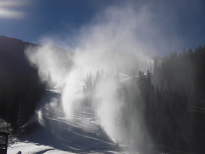 The Legend of the fall: A-Basin wins race to open first