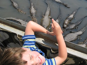 As the author's son, Max, discovered, there are even gators to be reckoned with in the high country. These were found at Colorado Gators near Great Sand Dunes National Park in southern Colorado.