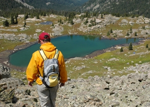 Hiking the high alpine lakes in and around Vail is an activity suited for virtually any season - just add snowshoes in the winter.