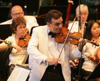 The New York Philharmonic returns to Vail Friday, July 18, 2008.