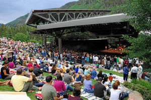 See a show at the Gerald R. Ford Amphitheater in Vail this summer and enjoy a bottle of wine compliments of the Westin Riverfront Resort & Spa (if you stay for at least two nights).