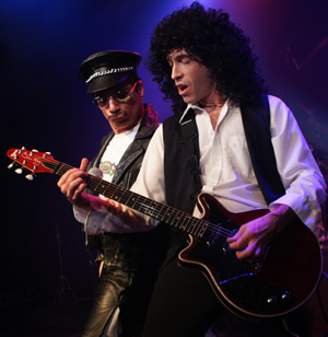 Queen tribute band Queen Nation will play a free show at the Gerald R. Ford Amphitheater on July 21.