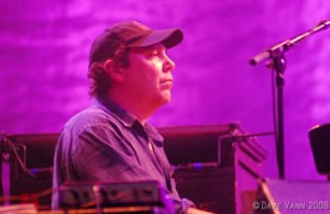 Keyboard player JoJo of Widespread Panic plays a free solo show in Vail Village