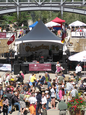 Oktoberfest is going on in Vail's Lionshead area this weekend and again next weekend in Vail Village.