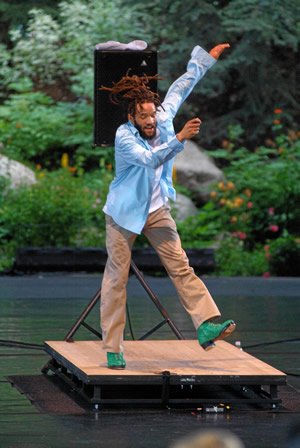 Tap dancer Savion Glover opens the Vail International Dance Festival July 27.