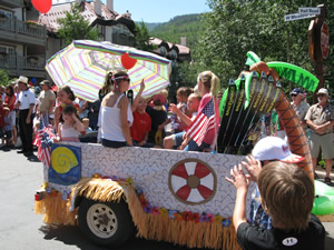 The Vail America Days Parade gets started in Golden Peak at 10 a.m., Saturday, July 4, and runs throughout Vail Village and Lionshead.