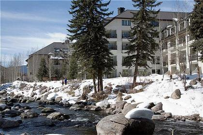 A view from the southern side of the Vail Cascade Resort where Vail's newest four-star dining experience will be located. Atwater on Gore Creek will offer a casual tavern and elegant dining.