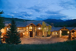 This 8-bedroom, 9-bath home on Lake Creek Road in Edwards is listed by Sonnenalp Real Estate for $16 million. High-end homes sales in Eagle County remained relatively strong the first two months of 2008.