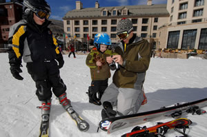 Find the right terrain for their skill level and make sure your kids are always having fun and the entire family will have a much better time on the slopes.