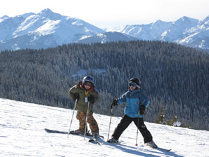 Kids tend to drive the modern ski vacation, so Colorado resorts are looking to attract families this spring with some good deals in a down economy.