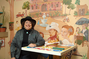 Superdelegate Debbie Marquez may have a big impact on the choice of this year�s Democratic nominee to the presidency at the Democratic National Convention in Denver, Aug. 25-28. The Edwards resident, shown at her restaurant, Fiesta�s Caf� and Cantina, has pledged her vote for Barack Obama.