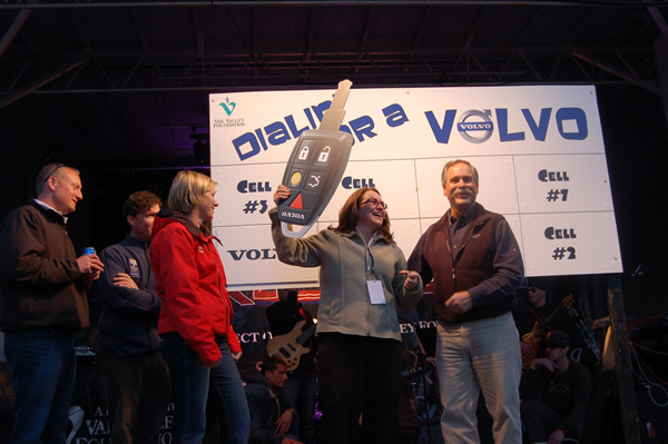 Permanent link to Town of Vail office manager scores new Volvo at final Streetbeat concert