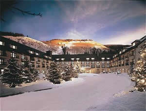 The Vail Cascade Resort & Spa occupies a prime location along Gore Creek to the west of Lionshead.