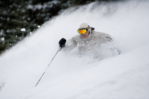 A powder shot from Vail, taken Nov. 29, proves that conditions have improved, and more snow is expected to hit the Valley this weekend.
