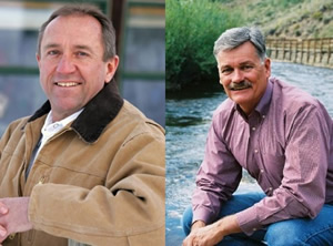 Ken Brenner, left, a Democrat from Steamboat Springs, is challenging Republican Al White -- who represented the Vail Valley in the state House six years ago -- for the state Senate District 8 seat.