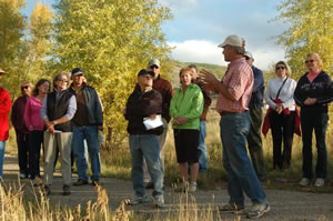 A group tours the Eagle River Preserve in Edwards Monday, Sept. 22. Another open house is set for 5:30-6:30 p.m., Monday, Sept. 29.