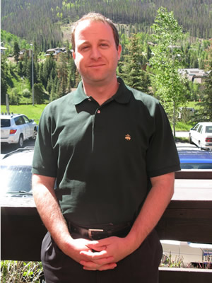 Congressional District 2 candidate Jared Polis, of Boulder, in West Vail recently. Polis' family owns a home in the Golden Peak area of Vail.