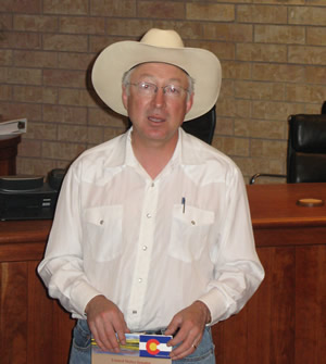 Sen. Ken Salazar, seen here talking during a town-hall-style meeting in Eagle earlier this month, admitted fixing the ongoing H2B worker-visa shortage hurting the state's ski industry may not happen until comprehensive immigration reform is passed.