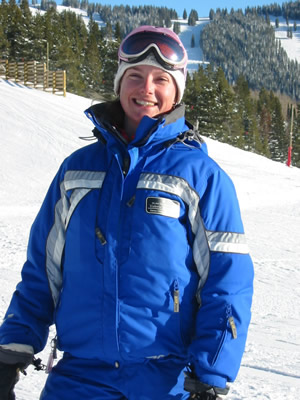 Valerie Muspratt, of France, has been ski instructing in Vail the past three seasons on an H-2B visa but won't be able to return this season due to the inability of Congress to deal with legal work-visa shortages because of the controversy over illegal immigration reform.