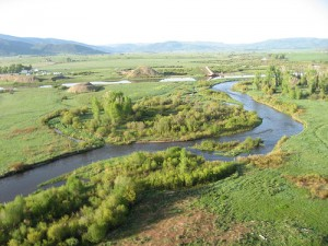 The Yampa River in Northwest Colorado is one of three singled out by a recent report as being in danger if the state's oil shale industry kicks into high gear.