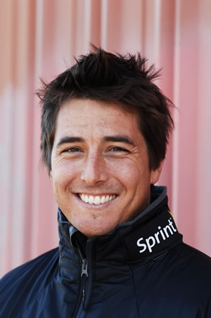 Olympic gold medalist Jonny Moseley.