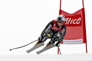 Lindsey Vonn of Ski Club Vail claimed her 10th downhill win Saturday in Switzerland.