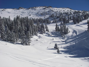 The new Montezuma Bowl expansion at Arapahoe Basin opens Friday, nearly doubling the size of A-Basin with another 400 acres of bowl skiing.
