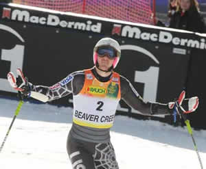 Top athletes like Ted Ligety of the U.S. Ski Team, a 2006 gold medalist at the Winter Olympics in Torino, Italy, love to perform on Beaver Creek's famous Birds of Prey course.