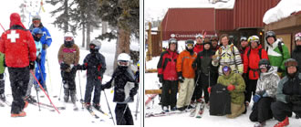 In this montage of Beaver Creek Ski Patrol photos, patrollers educate the skiing public on common safety sense.