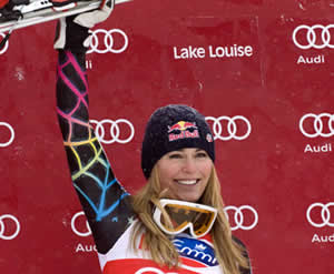 Vail's Vonn wins again at Lake Louise; Miller top American in Birds of Prey downhill
