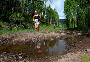 The Volvo 10k Spring Runoff presented by Eddie Bauer on Vail Mountain is part of the GNC Ultimate Mountain Challenge presented by GOAL�.